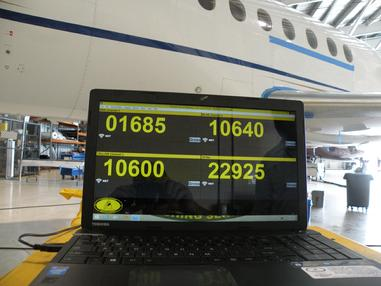 contract aircraft weighing, contract weighing, aircraft scale contract weighing, weighing large jet fleets, fleet contract weighing